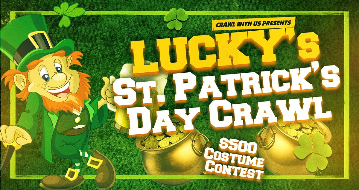 Lucky's St. Patrick's Day Crawl - Baltimore, 13 March | Event in Baltimore | AllEvents.in