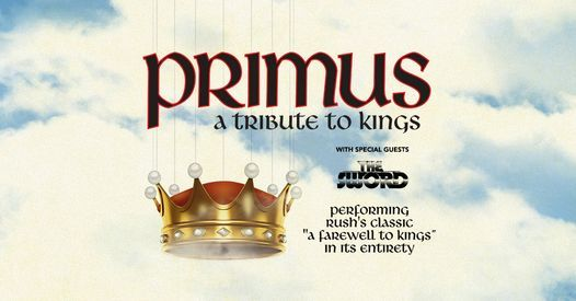 PRIMUS - A Tribute to Kings, 28 September | Event in New York | AllEvents.in