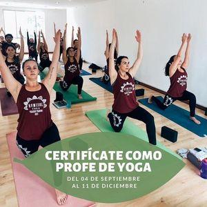 Profesorado de Yoga - Sep  Dic 2021