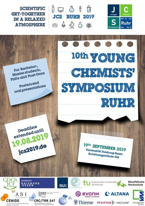 10th Young Chemists Symposium Ruhr