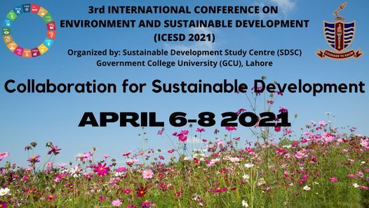 3rd International Conference on Environment and Sustainable Development | Event in Lahore | AllEvents.in