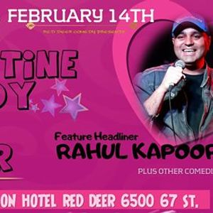 Be My Valentine Comedy and Dinner