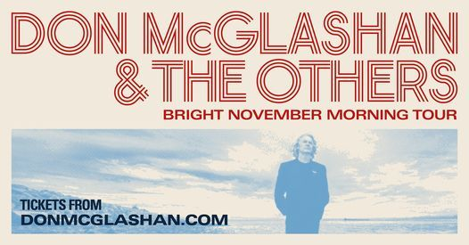 Don McGlashan & The Others - Bright November Morning Tour, 12 November   Event in Dunedin   AllEvents.in