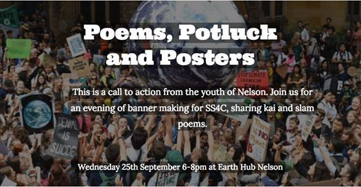 Poems Potluck and Posters
