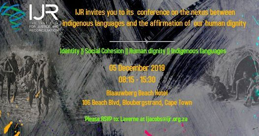Conference Indigenous languages affirming our human dignity