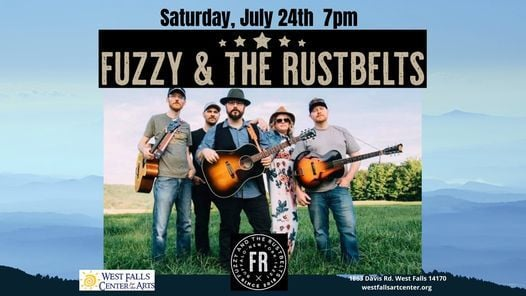 Fuzzy and the Rustbelts, 24 July | Event in West Falls | AllEvents.in