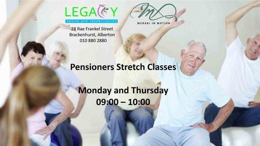 Bio Stretch Pensioners Class | Event in Alberton | AllEvents.in