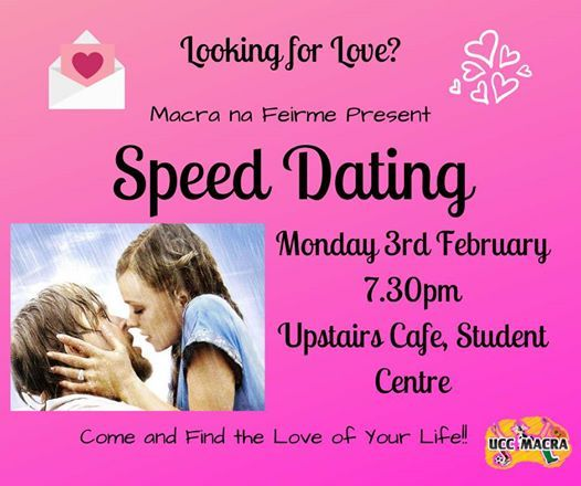 Speed Dating - tonyshirley.co.uk