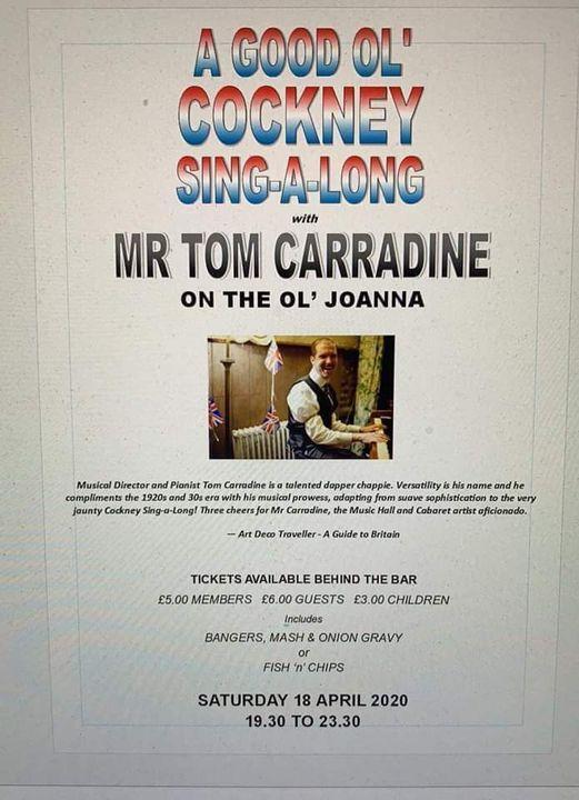 Cockney Night New Date 6th November 2021, 6 November | Event in Fareham | AllEvents.in