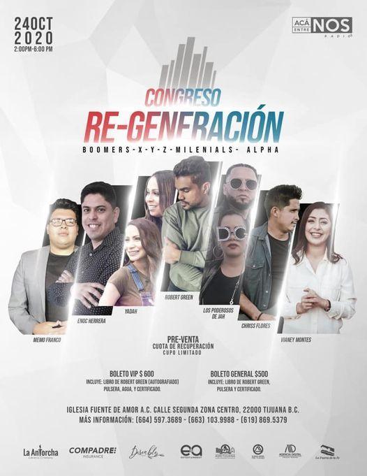 Congreso ReGeneración, 24 October | Event in Tijuana | AllEvents.in