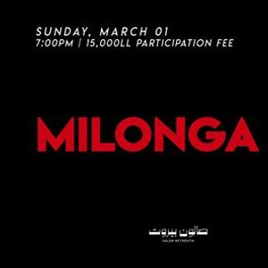 Milonga at Salon Beyrouth