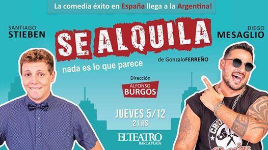 Se Alquila - Santiago Stieben y Diego Mesaglio