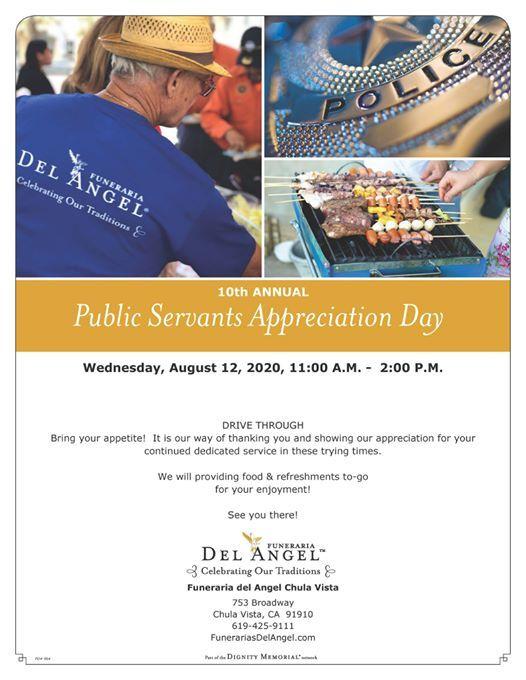 Public Servent Appreciation Day
