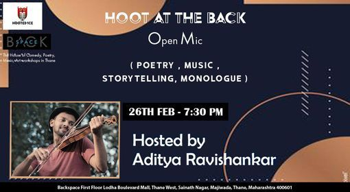 Hoot at the back open mic | Online Event | AllEvents.in