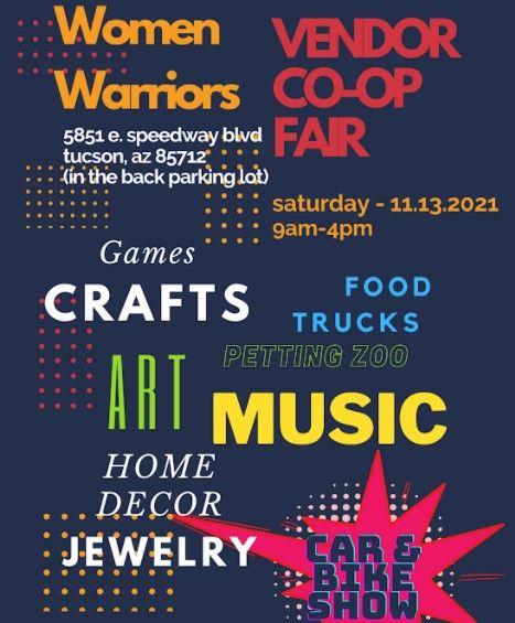 Women Warriors Vendor Co-Op Fair, 13 November | Event in Tucson | AllEvents.in