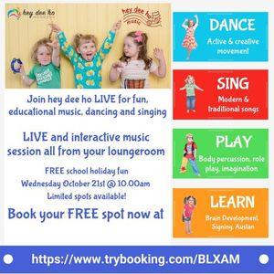 Hey Dee Ho Free Live Online Music Program