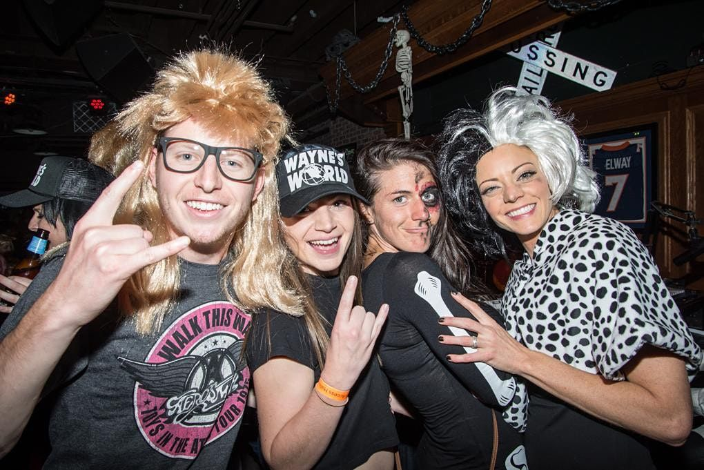 Halloween Party & Costume Contest in Indianapolis at Tappers