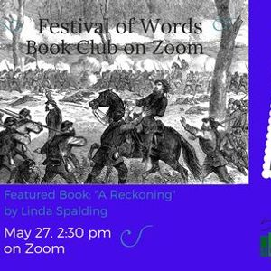Festival of Words Book Club on Zoom