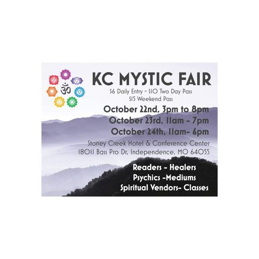 KC Mystic FAIR, 22 October   Event in Independence   AllEvents.in