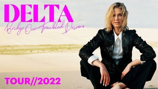 Delta Goodrem Tour // 2022 - Canberra, 18 March | Event in Canberra | AllEvents.in