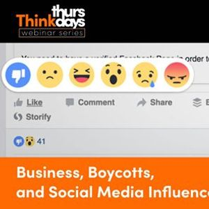 Business Boycotts and Social Media Influence