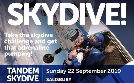Skydive for PICU - September