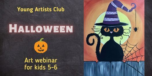Young Artist Club - Online Art Webinar for 5-6 year olds | Event in London | AllEvents.in