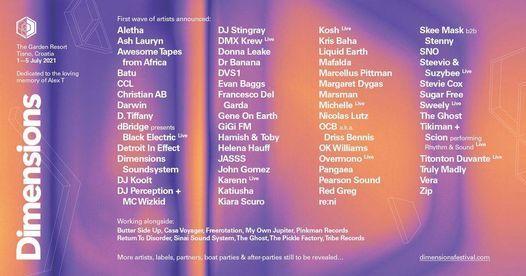 Dimensions Festival 2021, 1 June | Event in Rijeka | AllEvents.in