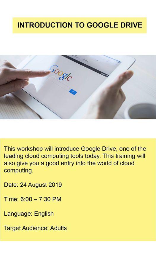 Introduction To Google Drive at Qatar National Library مكتبة