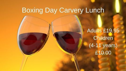 Boxing Day Carvery Lunch - SOLD OUT