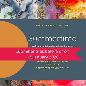 Summertime group exhibition Selection Day