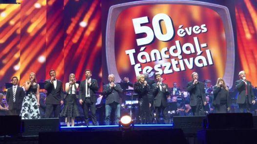 50+ éves Táncdalfesztivál koncert 2022 - Budapest Aréna, 20 May | Event in Budapest | AllEvents.in