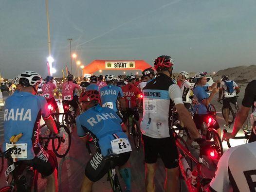 Urban-Ultra Coast to Coast Cycle Challenge 2021 From Sharjah Lagoons to Le Meridien Al Aqah Beach Re, 19 November