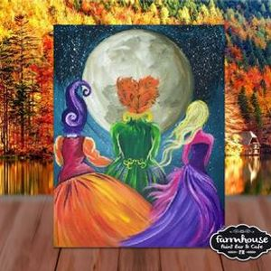 Hocus Pocus - Step by Step Painting Class