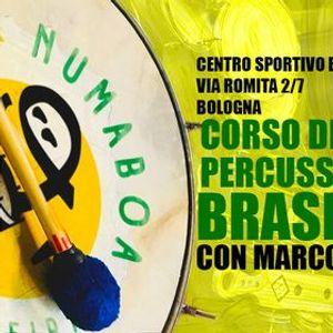Laboratorio di Percussioni Brasiliane - Samba Carioca Samba de Enredo