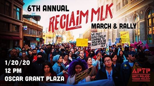 6th Annual Reclaim MLKs Radical Legacy Rally and March