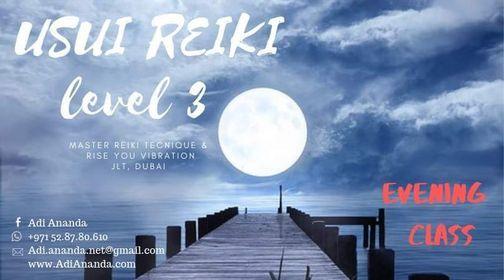 USUI REIKI LEVEL 3: Evening Certified Training Course, Dubai, 27 June | Event in Dubai | AllEvents.in