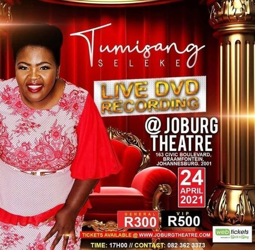 Tumisang Seleke Live Recording, 24 April   Event in Johannesburg   AllEvents.in