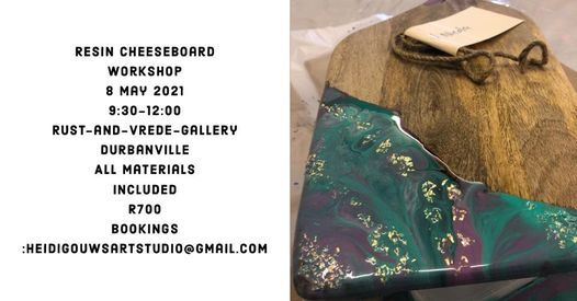 Resin Cheeseboard Workshop | Event in Durbanville | AllEvents.in