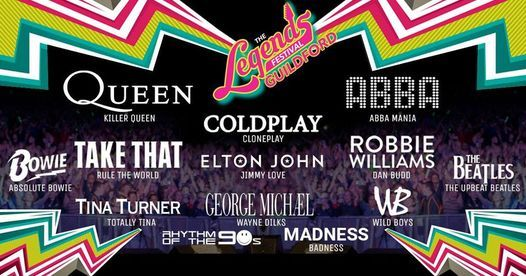 Guildford: 80s & 90s + Legends, 28 August   Event in Kolkata   AllEvents.in
