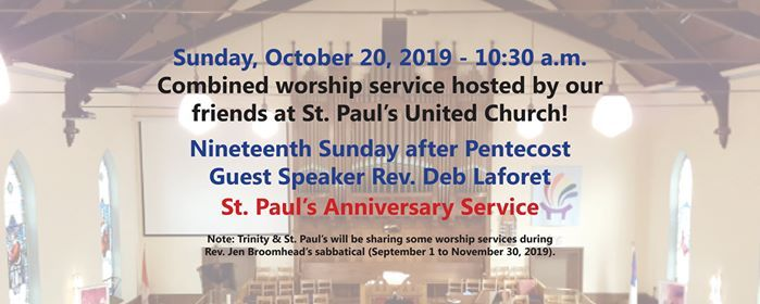 Sunday Worship - Nineteenth after Pentecost