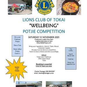Wellbeing Potjie Competition