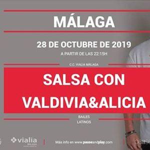 Salsa con Valdivia&ampAlicia - Pause&ampPlay Vialia Mlaga