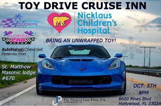 Chevrolet Pembroke Pines >> Toy Drive Cruise Inn At Autonation Chevrolet Pembroke Pines