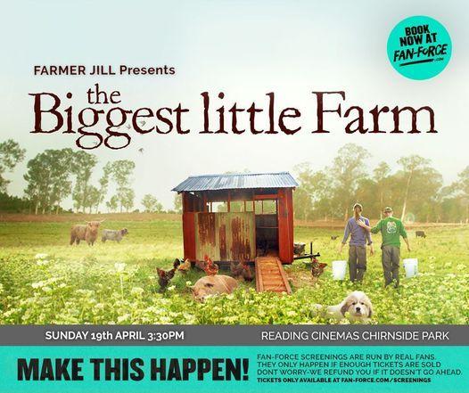 The Biggest Little Farm - Virtual Fundraising Screening