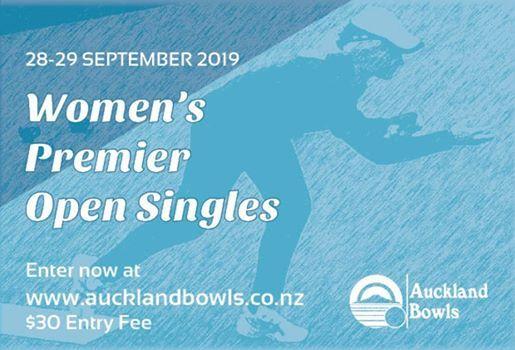 Womens Premier Open Singles