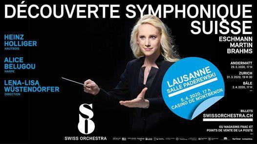 Découverte Symphonique Suisse, 15 May   Event in Lausanne   AllEvents.in