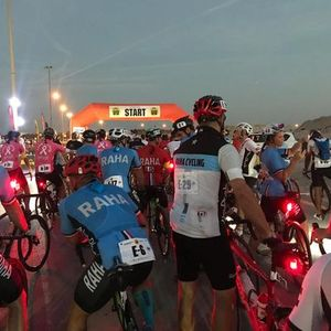 Urban-Ultra Coast to Coast Cycle Challenge 2021 From Sharjah Lagoons to Le Meridien Al Aqah Beach Re