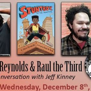 ONLINE Jason Reynolds & Ral the Third with Jeff Kinney