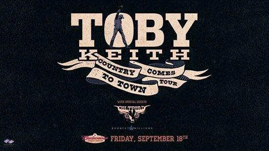 Loveland Halloween 2020 Rescheduled Rescheduled| Toby Keith with Colt Ford Chancey Williams, Budweiser